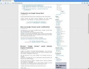 Diese Seite mit Google Chrome